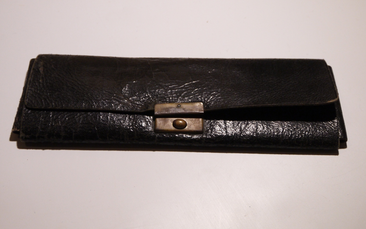 A Nice Leather Pencil Case